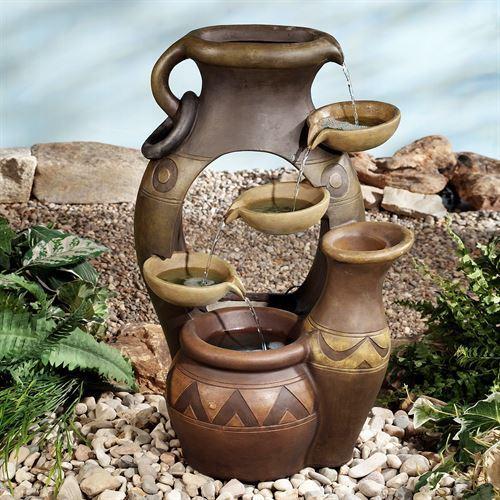 Antonito Water Fountain Brown