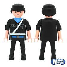 Playmobil ® personaje: us policía | policía | soldado | negros | azul | Weiss | ww2