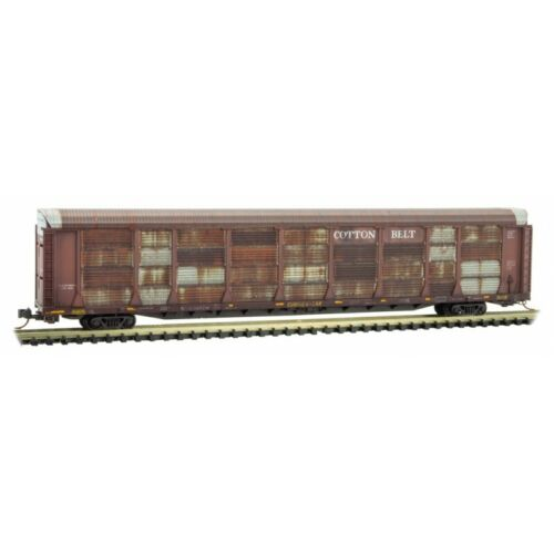MTL MICRO-TRAINS N 111 44 320 *COTTON BELT* WEATHERED 89/' TRI LEV AUTO RACK