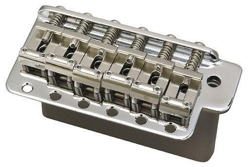 Gotoh GE-101TSC-L Guitar Tremolo Chrome - Steel Block - Left Handed