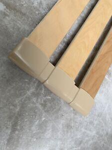 Lot De 2 Embouts fixation de tri-Lattes (38mm X 8mm) pour sommier de lit
