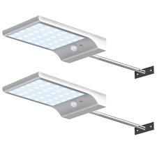 LED Street Solar Power Lights Wall Pole Outdoor Waterproof Garden Fence Lamp New
