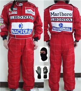 Details about HONDA Kart Racing Suit CIK-FIA Level 2 + Free Gift of high  quality t shirt