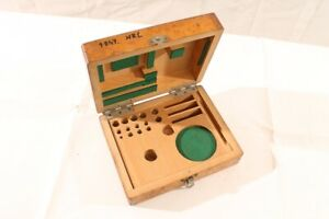 Old-Box-Wood-Transport-Chest-Storage-Measuring-Tool-Gauge-Case