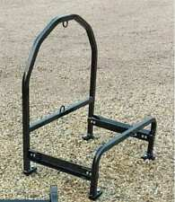 Semi Truck Spare Tire Carrier Rack For Super Singles Adjustable Powder Coated