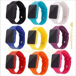 Womens-Ladies-Mens-Kids-Digital-LED-Quality-Sports-Wrist-Watches