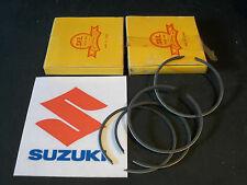 SUZUKI GT250 K/L/M/A/B/C  GT250X7 PISTON RINGS +1.00mm (2)  NOS