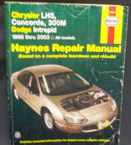 1 of 1 - Chrysler LHS, Concorde, 300M Dodge Intrepid
