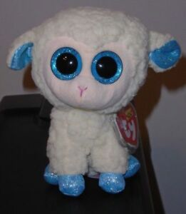 Ty Beanie Boos ~ OLGA the Sheep / Lamb (Regular ~ 6 Inch Size) NEW MWMT