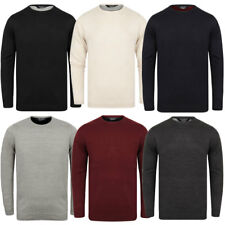 New Mens Kensington Eastside Crew Neck Knitted Jumper Knit Top Size M-XXL