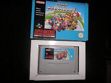 Super Nintendo, Snes - mario kart -  boxed
