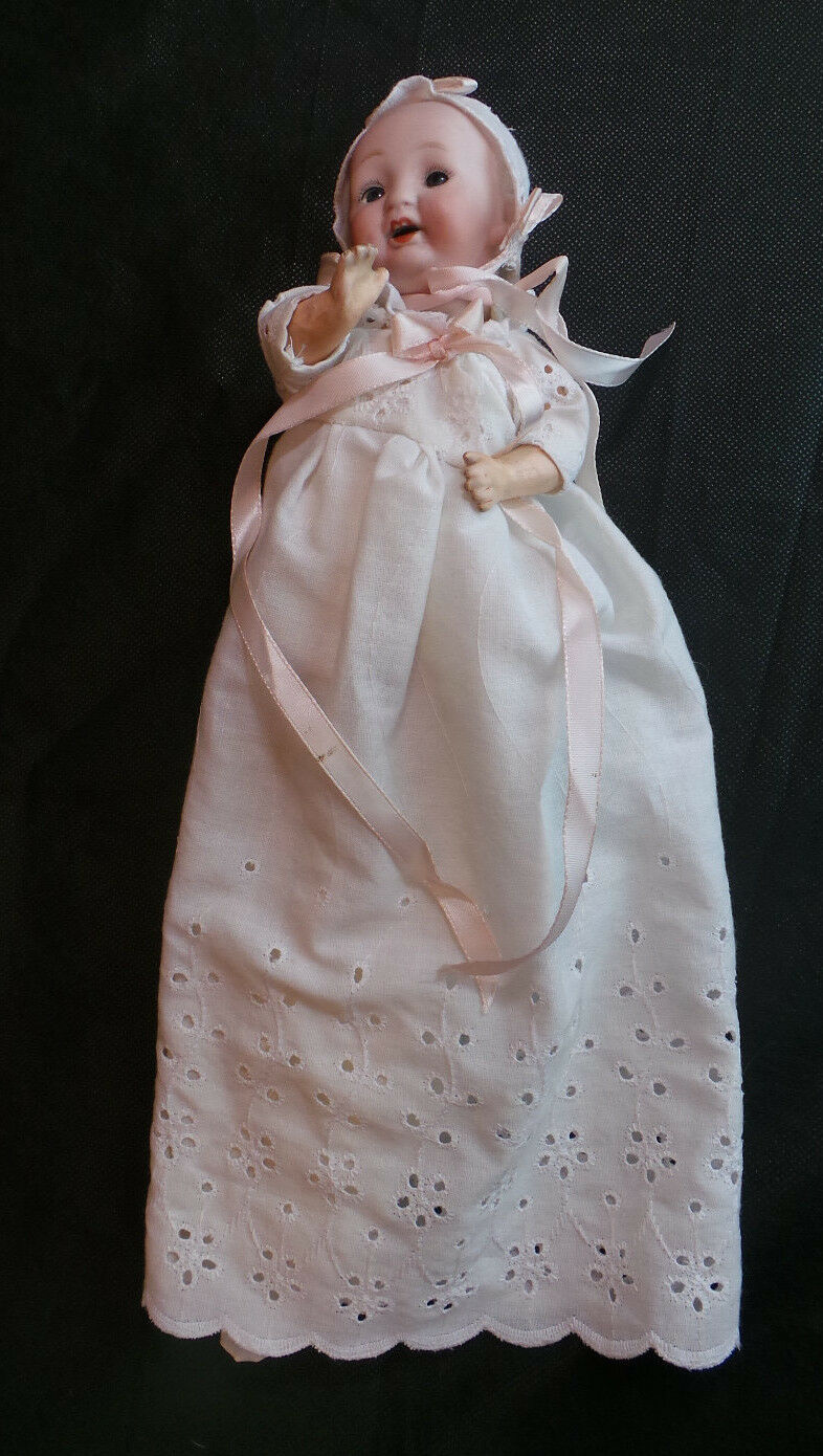 VINTAGE JAPANESE BISQUE & COMPOSITION DOLL NUMBErosso