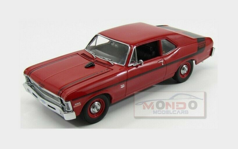 Chevrolet Chevy Nova Yenko Coupe 1970 Black GMP 1:18 GMP18830 model