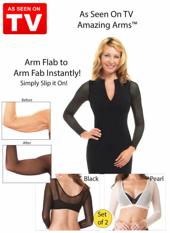 Amazing Arms From Flab To Fab Lightweight Arm Wear Wrap- 2 Pcs