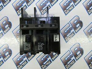 ITE BQ3B020 WARRANTY 3 POLE 20 AMP 240 VOLT BOLT ON Circuit Breaker