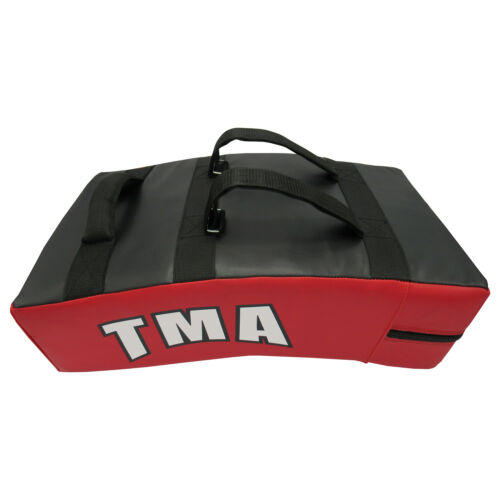 TMA MMA Kick Strike Shield Curved Training Thai Pad Target Focus Boxing Punching
