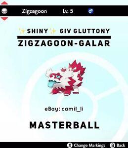 Pokemon Sword And Shield Shiny 6iv Galarian Zigzagoon W Masterball Ebay Pokemon shiny zigzagoon shinypokemon galarian galarianzigzagoon. ebay