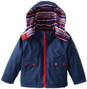 06144f61b JOJO MAMAN BEBE ⭐ 4-in-1 Waterproof COAT 12-18 Polar Fleece lined ...