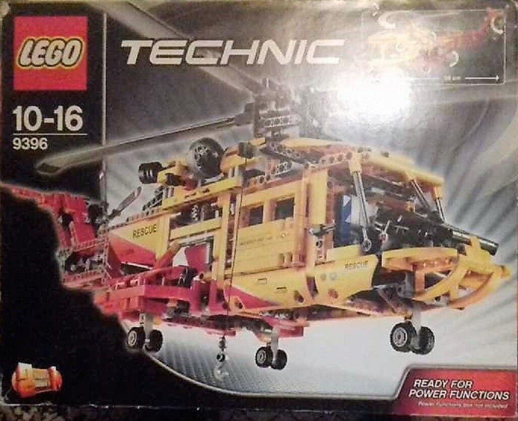 Lego 9396 Technic Technik  Rettungshubschrauber  8293 OVP Bauanleitung Komplett