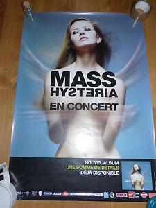 MASS-HYSTERIA-Affiche-de-concert-Tour-poster-UNE-SOMME-DE-DETAILS