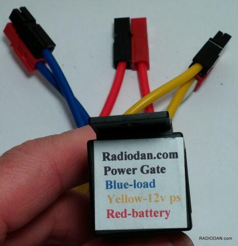 GO KIT BAG Power Gate Battery Backup DC Switching module PowerPole Amateur Radio