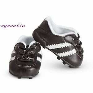 Authentic-American-Girl-2-in-1-Soccer-Outfit-Star-Set-SHOES-With-Cleats-Lea-Mia