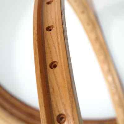 CB ITALIA pair ROUBAIX vintage wooden rims for tubular tires #2 rims