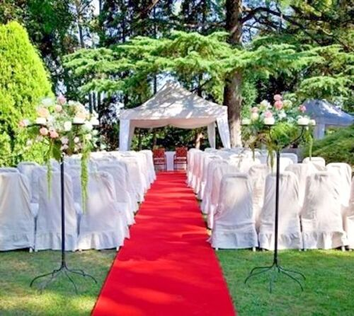 """HOLLYWOOD RED AISLE & EVENT RUNNER 100 FT X 38"""" ~ PUNCTURE RESISTANT! WEDDINGS!"""