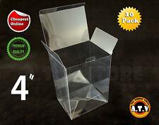 "Funko Pop Vinyl Display Box Cases 4"" / Protectors (Pack of 10)"