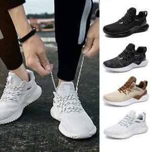 Plus-Size-Men-039-s-Sneakers-Breathable-Running-Shoes-Lace-Up-Casual-Tennis-Sho-top