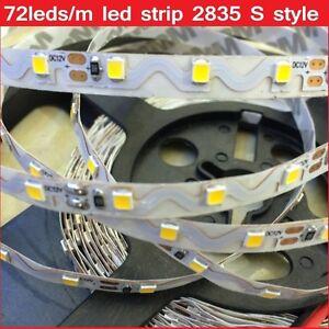 CURVABILE-SMD2835-5m-60w-300-LED-STRIP-STRISCIA-BIANCO-CON-ALIMENTATORE
