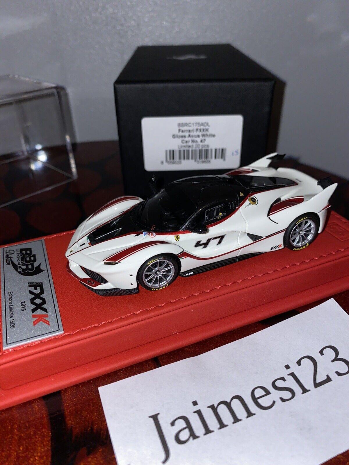 1 43 BBR Ferrari FXX K Deluxe MR Collection Looksmkonst