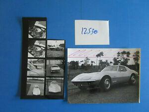 N°12530 / Chevrolet Corvette Sting Ray : Photos Journaliste D'epoque 1965 ?