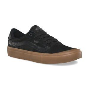 eb936e8e35a2 Vans Style 112 Pro Black Gum UltraCush Skate Shoes Mens 7.5 Womens 9 ...
