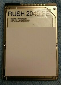 RUSH 2049 ATARI REPLACEMENT HARD DRIVE FOR ARCADE GAME TESTED WORKING