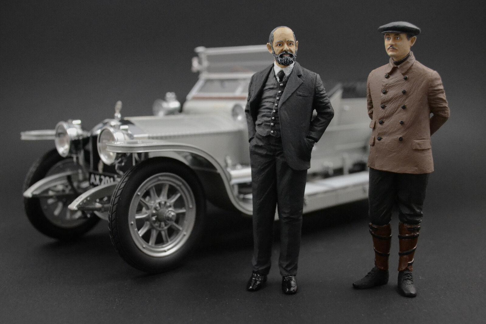 Charles Rolls & Henry Royce  Figure per 1 18 Rolls-Royce Neo