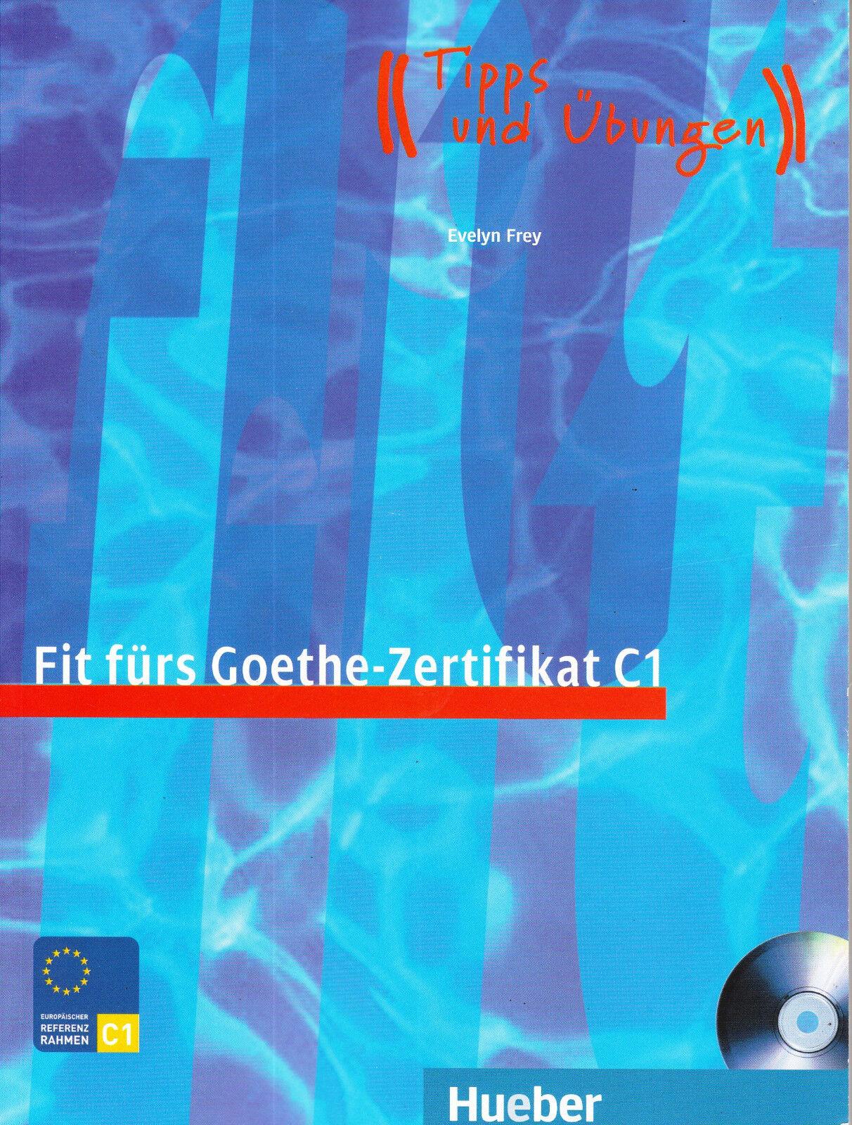 Fit Furs Goethe Zertifikat C1 Book Cd By Max Hueber Verlag Mixed