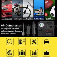 Air Compressor Pumps 12V 150PSI Portable Tire Inflator Car Auto Electric Tyre