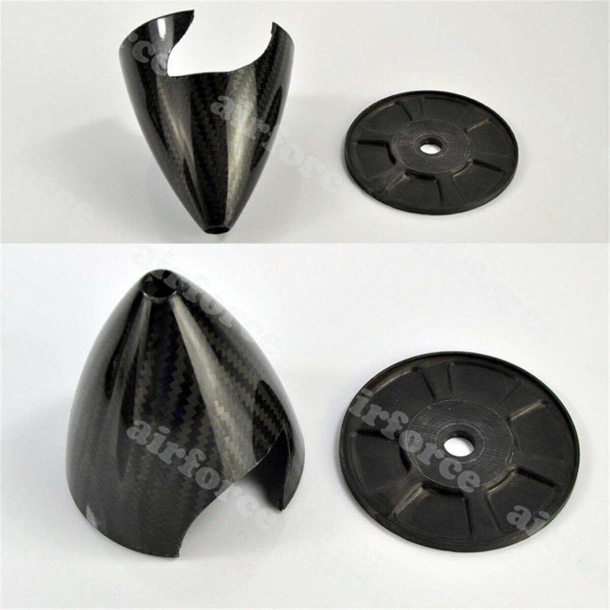 1PC 2 Blade 5.5 pulgadas 140mm 140mm 140mm de fibra de carbono Spinner con Kit de plano de gas de placa cf  ofrecemos varias marcas famosas