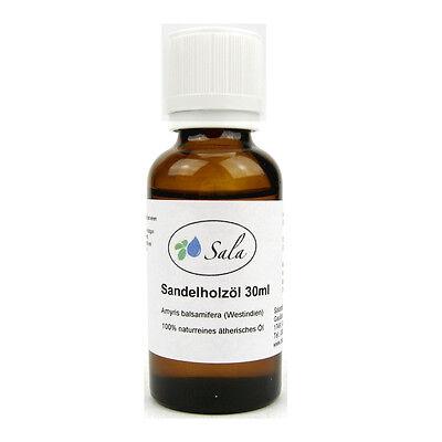 (19,67/100ml) Sala Sandelholzöl ätherisches Sandelholz Öl Amyris 30 ml