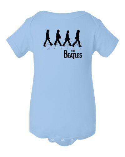 The Beatles Abbey Road Baby Short Sleeve Bodysuit