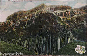 The-Organ-Giant-039-s-Causeway-Co-Antrim-Postcard-Portrush-Coat-of-Arms