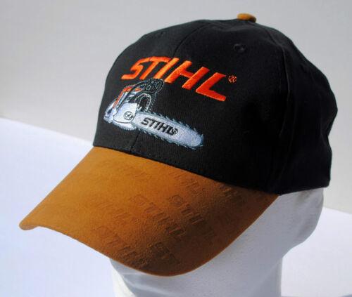 hat STIHL  black adjustable ball cap