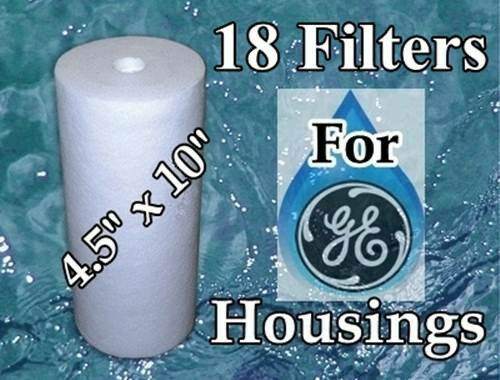GE GXWH40L GXWH30C 18 Compatible Sediment Water Filters HDSFI GXWH35F GNWH38F