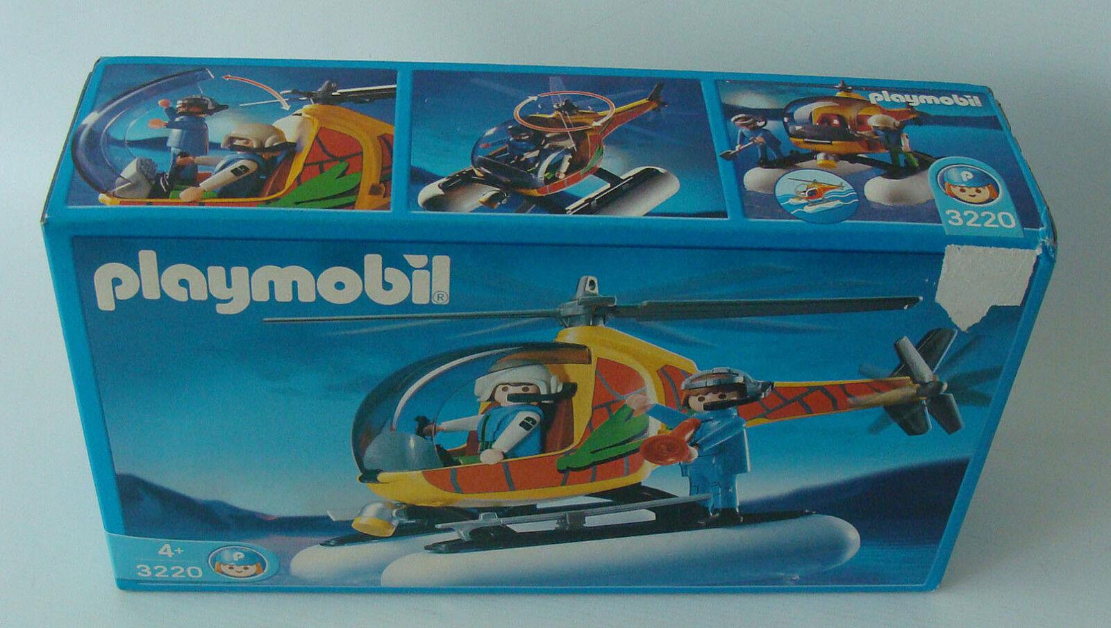 Playmobil 3220 - Luftkissenhelikopter 4+ Neu New
