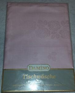 TISCHDECKE-TISCH-DECKE-TAFELTUCH-MITTELDECKE-TISCH-ZART-ROSA-100-BAUMWOLLE-NEU