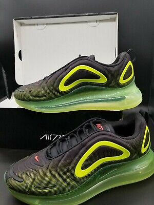 Nike Air Max 720 Men's Shoes AO2924 008 BlackBright CrimsonVolt sz 11 | eBay