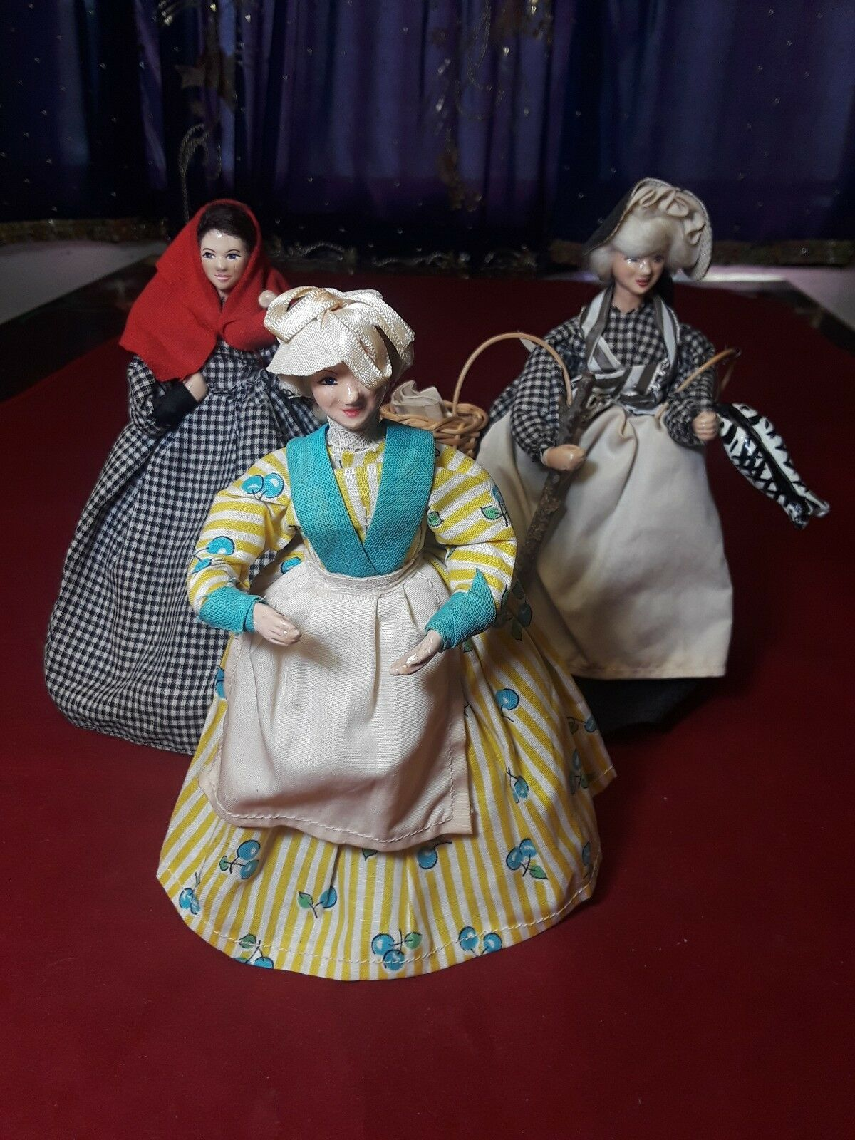 Shallowpool Dolls Mary Kelynack & Friends Set of 3 Dolls 8  Tall