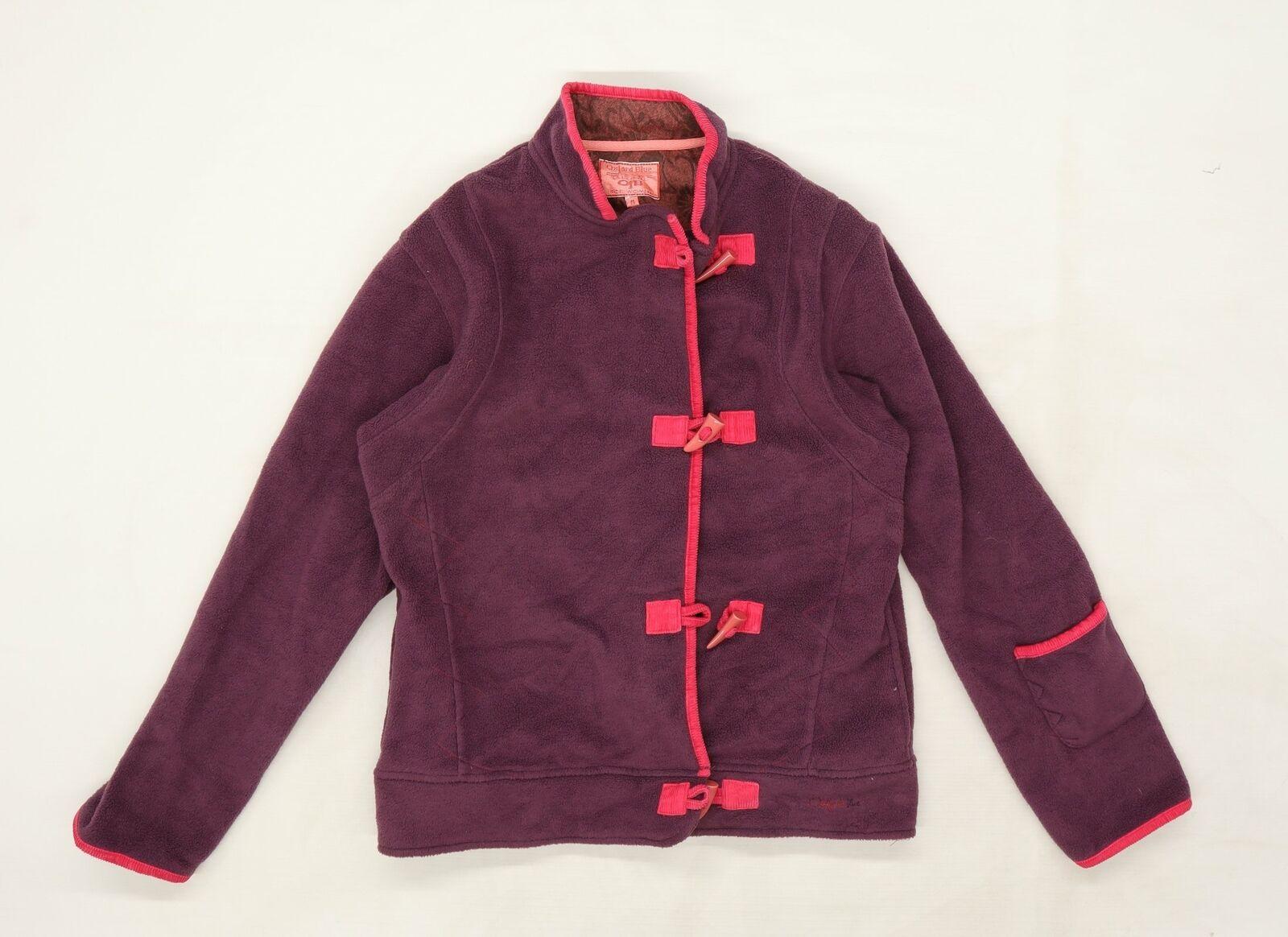 Oxford Blue Lifestyle Womens Purple Jacket Coat Size 14