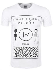 Objectif Twenty One Pilots-ligne Fine Boîte-xl T-shirt Nouveau-afficher Le Titre D'origine Prix De Vente Directe D'Usine